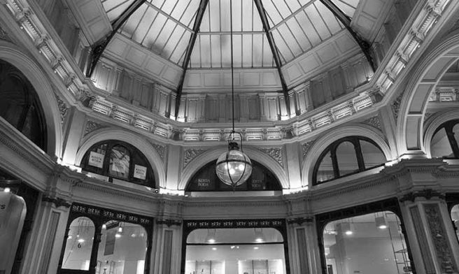 Block Arcade Dome Study-2016-Young & Percival Gallery_InterContinental Melbourne