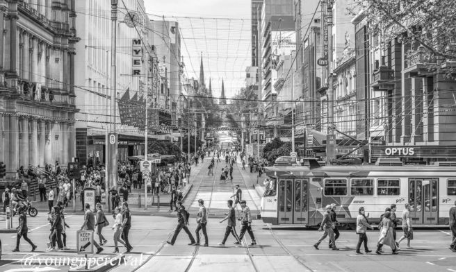 Bourke Street Mall-2019-Young & Percival Gallery_InterContinental Melbourne